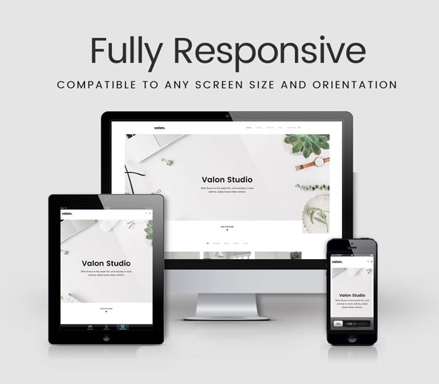 Valon - Minimal Portfolio WordPress Theme